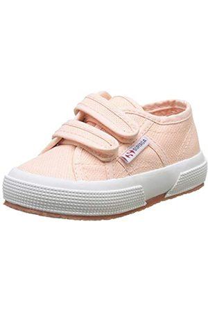 Superga Unisex-Kinder 2750-COTJSTRAP Classic Sneaker, (Pink Peach)
