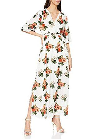 Mela Damen Chrysanthemum Flower Maxi Dress Lässiges Kleid