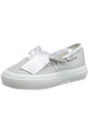 Superga Mädchen 2257-jerseylurexj Slingback Ballerinas, (Grey Silver 031)