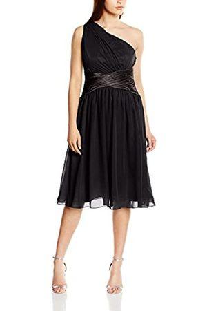 Astrapahl Damen Cocktail Kleid One Shoulder, Knielang, Einfarbig, Gr. 36