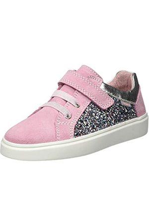 Richter Kinderschuhe Mädchen Flora Sneaker, Pink (Powder/Silver 1101)