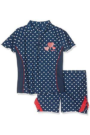 Playshoes Mädchen Badebekleidungsset UV-Schutz Bade-Set Herzchen