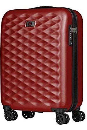 """Wenger Lumen 20"""" Hardside Luggage Global Carry-On - Red Koffer, 54 cm"""