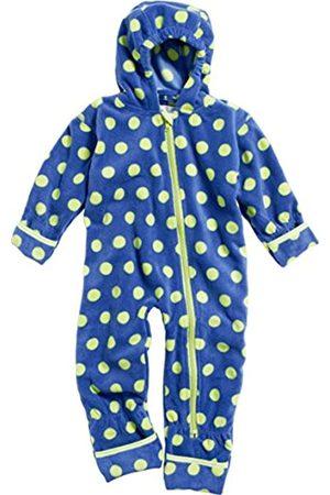 Playshoes Baby-Unisex Fleeceoverall, Fleeceanzug Punkte, Oeko Tex Standard 100 Schneeanzug