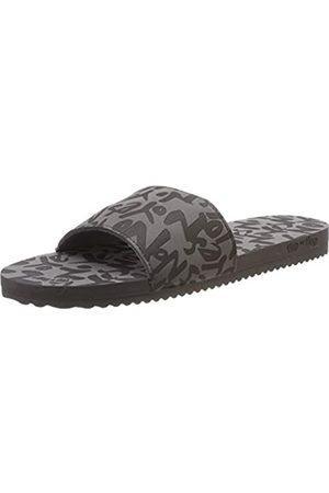 flip*flop Damen poolyyes no Pantoletten, (Steel 0170)