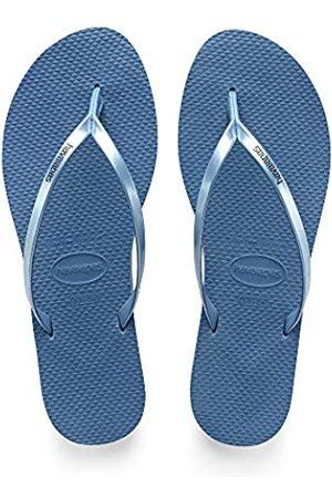 Havaianas Damen You Metallic Zehentrenner, (Blue)