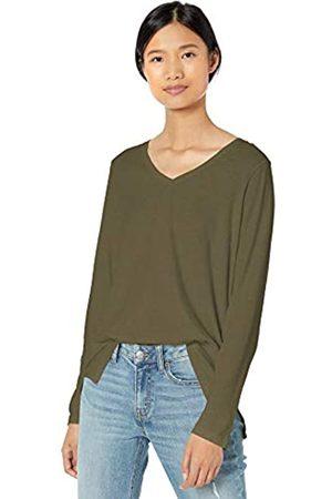 Goodthreads Washed Jersey Cotton Long-Sleeve V-Neck fashion-t-shirts