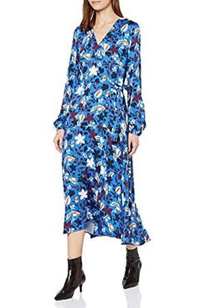Marc O' Polo Damen 001098521191 Kleid, (Multi/Foggy Sky B01)