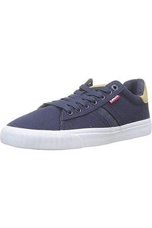 Levi's Herren Skinner Sneaker, (Navy Blue)
