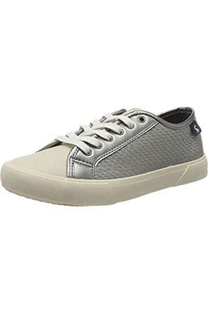 Tom Joule Damen Coast Pump Sneaker, (Metallic Metallic)
