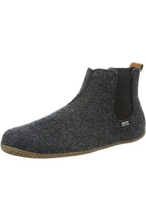 Living Kitzbühel Unisex-Kinder Chelsea Boots unifarben Hohe Hausschuhe, (anthra 600)