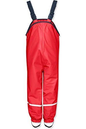 Playshoes Kinder Regen-Latzhose, Unisex-Buddelhose mit Hosenträgern und Fleece-Innenfutter, Wassersäule: 5000 mm