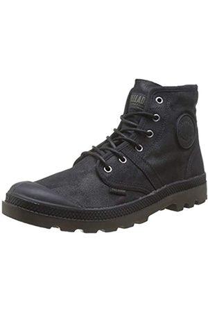 Palladium Herren Plbrs Wax U Hohe Sneaker, (Black/Dark Gum 615)