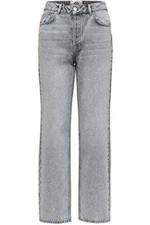 Selected Damen SLFKATE HW Straight Blast W Jeans