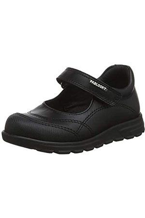 Pablosky Unisex-Kinder 334210 Sneakers, (Negro Negro)
