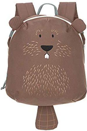 LÄSSIG Kinderrucksack für Kita Kindertasche Krippenrucksack mit Brustgurt/Tiny Backpack, About Friends Beaver, 24 cm, 3