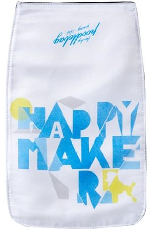 Poodlebag S young Art - slogan- ritsch ratsch small Lid Happy - 3YA0312RRSLHAPW, Unisex - Kinder Messengerbags