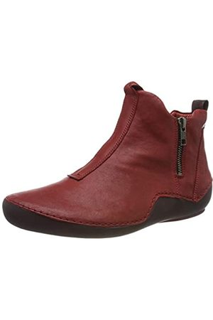 Think! Damen KAPSL_585067 Hohe Sneaker, (Cherry/Kombi 74)