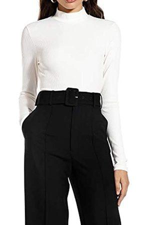 Ivy Revel DE Damen Long Sleeve Rib top Rollkragenpullover