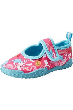 Playshoes Unisex-Kinder Badeschuhe Flamingo mit UV-Schutz Aqua Schuhe ,Türkis (türkis)
