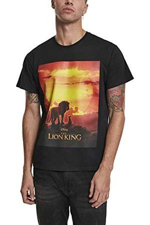 Merchcode Herren Lion King Sunset Tee T-Shirt