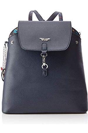 PIERO GUIDI Damen Reversible Backpack Rucksackhandtasche, 21x18