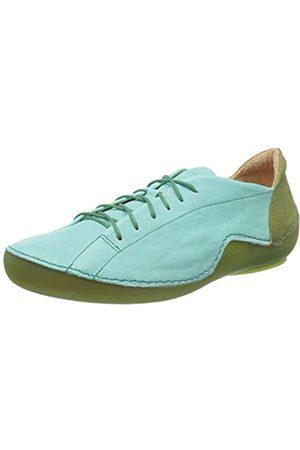Think! Damen 686062_KAPSL Sneaker, Türkis (Aruba/Kombi 93)