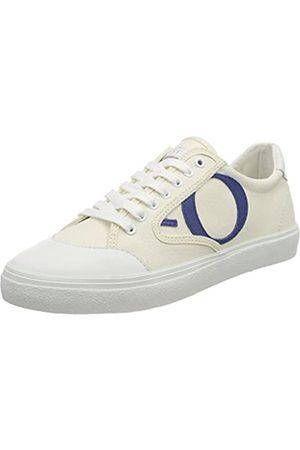 Marc O' Polo Damen 80214433501801 Sneaker, (White/Blue)