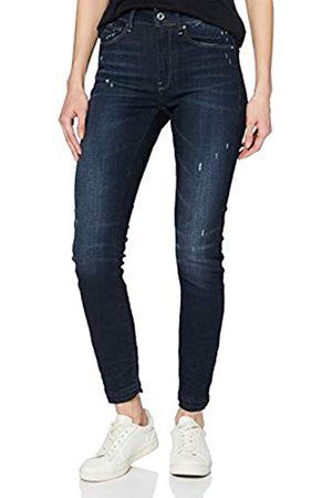 G-Star Damen 3301 High Waist Ripped Ankle Skinny Jeans
