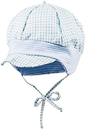 maximo Baby-Jungen Schildmütze mit Bindeband, kariert Mütze