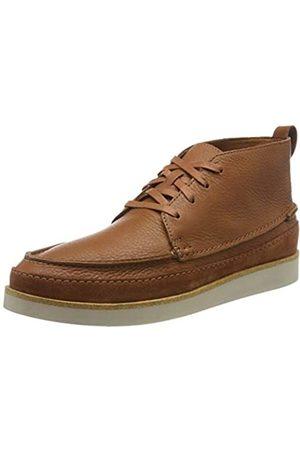 Clarks Herren Ashridge Craft Klassische Stiefel, (Tan Leather Tan Leather)