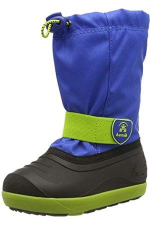 Kamik Unisex-Kinder Jet Schneestiefel, (Blue Lime BLL)