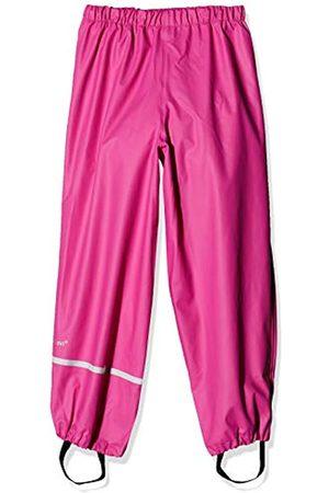 CeLaVi Mädchen Regenhose Rainwear Pants-Solid, Pink - Real Pink