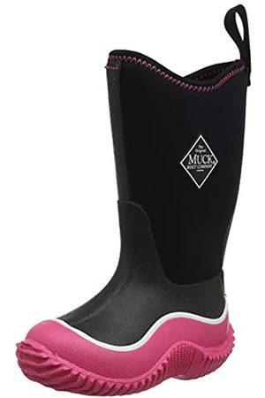 Muck Unisex-Kinder Hale Gummistiefel, Pink (Black/pink)