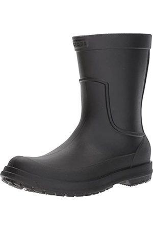 Crocs AllCast Rain Boot Men, Herren Gummistiefel, (Black/black)