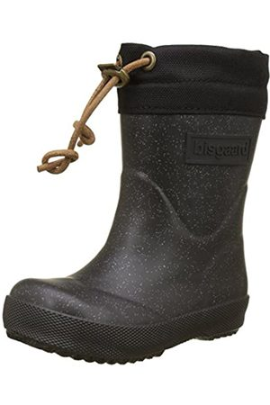 Bisgaard Unisex-Kinder Winter Thermo Gummistiefel, (03 Glitter-Black)