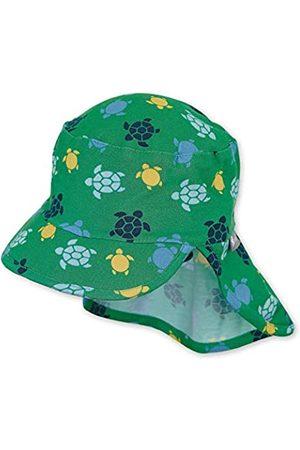 Sterntaler Baby-Jungen Schirmmütze Nackenschutz und Schildkröten-Motiven Mütze