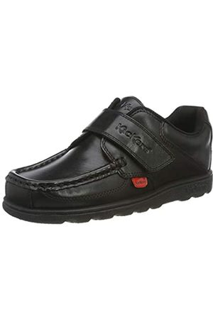 Kickers Jungen Fragma Single Strap Mokassin, (Black Blk)