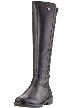 Remonte Damen R4970 Hohe Stiefel, ( /Black 01)