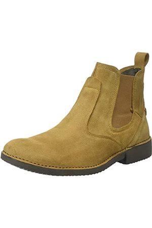 El Naturalista Herren Ng24 Lux Suede Yugen Chelsea Boots, (Camel Camel)