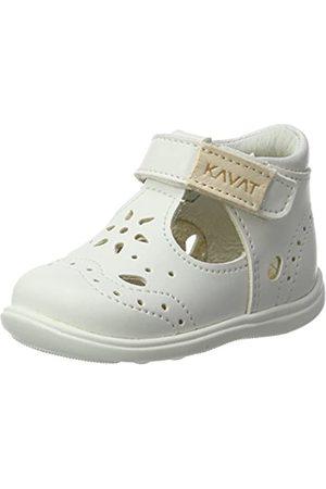 Kavat Baby Mädchen Ängskär Lauflernschuhe, (White)
