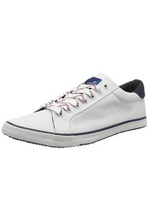 TOM TAILOR Herren 805100530 Sneaker, (White 00002)
