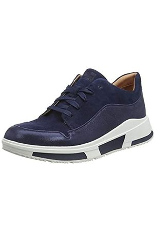 FitFlop Damen Freya Lace Up Low Top Sneaker, (Midnight Navy 399)