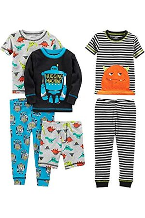 Simple Joys by Carter's Jungen 6-piece Snug Fit Cotton Pajama Set