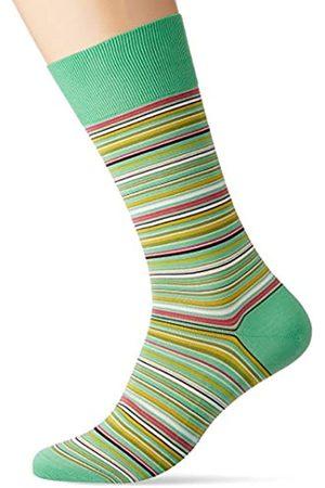 Falke Herren Socken Microblock, 91% Baumwolle, 1 Paar, (Neo Mint 7133)