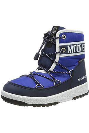 Moon Boot Jungen Jr Boy Mid Wp Schneestiefel, (Blu 002)