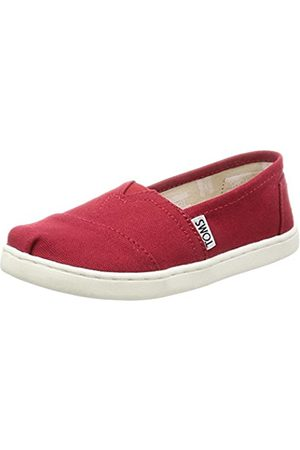 TOMS Unisex-Kinder Alpargata Core Espadrilles, (Red Canvas 610)