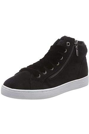 TOM TAILOR Damen 5892609 Hohe Sneaker, (Black 00001)