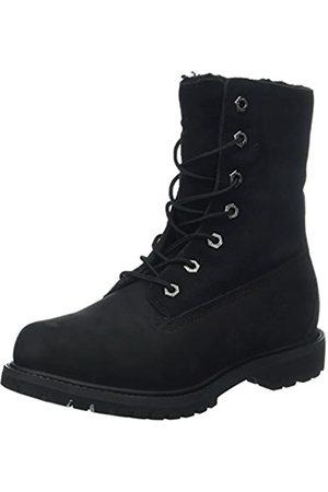 Timberland Damen Authentic Teddy Fleece Chukka Boots, (Black)
