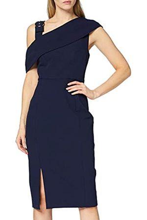 FIND Amazon-Marke: Damen Asymmetrisches Midi-Kleid, 42